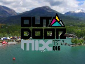 Logo de l'Outdoor Mix Festival 2016